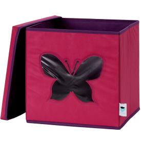 30a1ee075fd5a Úložný box na hračky s krytom a okienkom – motýľ