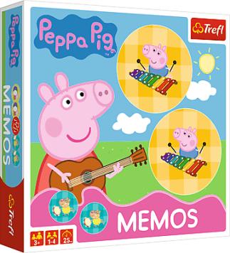 GAME Memos Peppa - pexeso