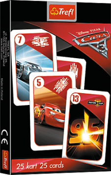 Karty Čierny Peter - Cars